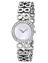 Movado Women'ss Analogue MOP Dial Women's Watch - 605777