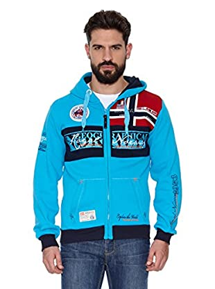 Geographical Norway Sudadera Flyer Men 100 (Turquesa)