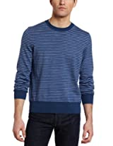 Jack Spade Men's Judson Crewneck Sweater, Dark Blue, X-Large