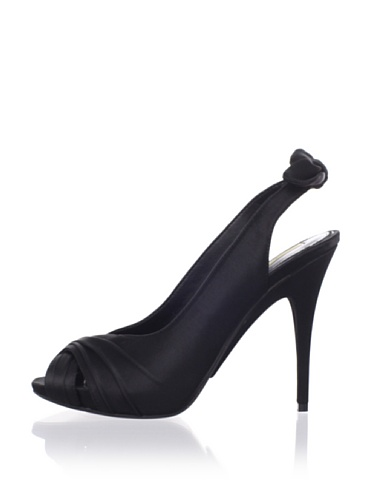 MaxStudio Women's Esthera Platform Pump (Black)