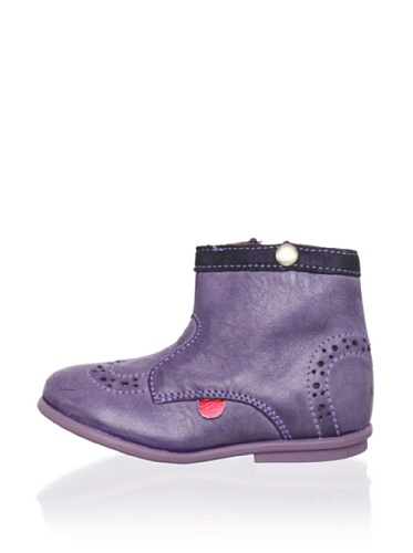 Kickers Kid's Starry Brogue Boot (Infant) (Violet)