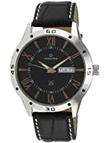 Maxima Attivo Analog Black Dial Men's Watch - 24122LMGI