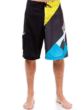 Billabong Bañador Big Time (Negro / Gris / Lima)