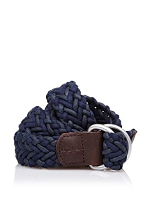 Pepe Jeans London Cinturón Trenzado (Azul)
