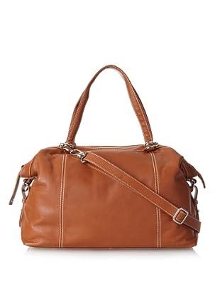 Merci Marie Women's Calabria Shoulder Bag, Tan