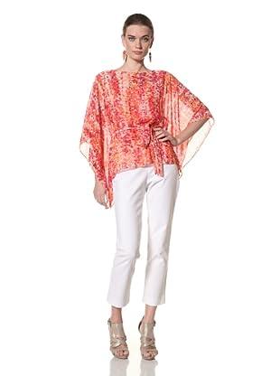 Chetta B Women's Batwing Blouse (Orange)