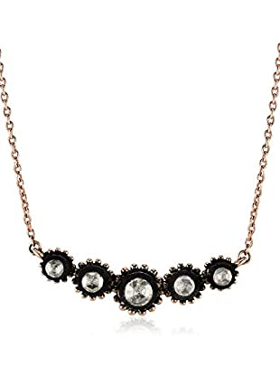 ZZ_Divas Diamond Halskette 3,27 gr 8K Rose Gold-925K Silver