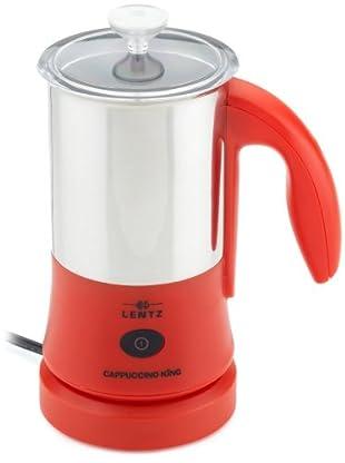 Lentz CAP300r Cappuccino+Cocktail King (Milch (heiß/kalt) 300 ml, Aufschäumen 150 ml)