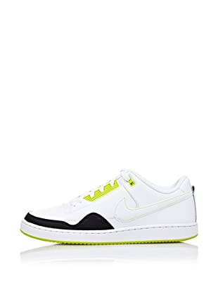 Nike Zapatillas Basket Alphaballer Low (Blanco / Negro / Flúor)