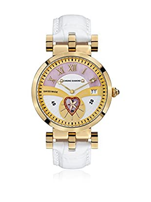 Chrono Diamond Reloj de cuarzo Woman 11910 Feronia 38 mm Blanco