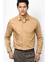 Khaki Full Sleeve Formal Shirts