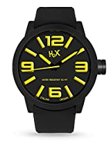 H2X Turbina Analog Black Dial Men's watch - SN395UNY