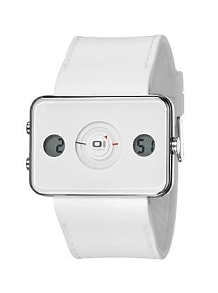 THE ONE Reloj digital analógico Turning Disc IP104-3WH