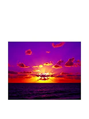 LegendArte  Wandbild Wolken am Sonnenuntergang