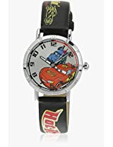 Cars 99112 Black/Multi Analog Watch Disney