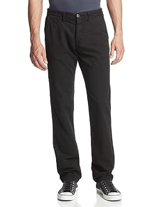 Original Paperbacks Men's Bayside Canvas Flat Front Pant (Black)