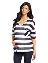 NOM Women's Maternity Cami Sweater