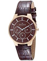 Skagen Analog Brown Dial Men's Watch - 331XLRLD