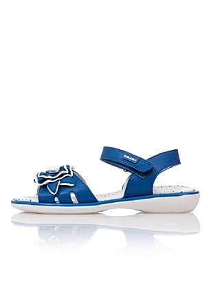 Pablosky Sandalias Flor (Azul Royal)