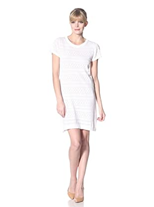 Zero Degrees Celsius Women's Pointelle Knit Dress (Ivory)