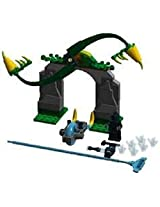 Game / Play LEGO Chima 70109 Whirling Vines Gate with spinning fangs measures over 7 high 7 wide & 2 deep Toy / Child / Kid