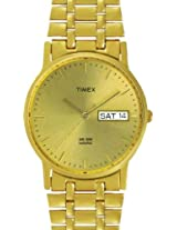 Timex Classics Analog Champagne Dial Men's Watch - A505