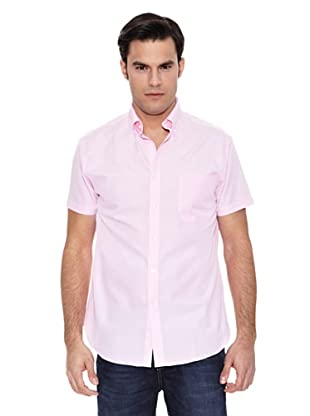 Pedro del Hierro Camisa Lino Liso Non Iron (Rosa)