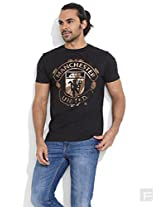 Manchester United Metallic Mania Tee -Black-S