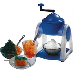 MJ stainless steel and plastic ice cream maker
