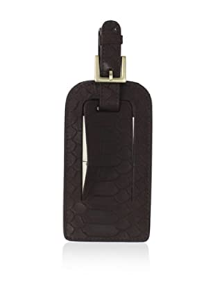 Graphic Image Women's Luggage Tag (Brown)