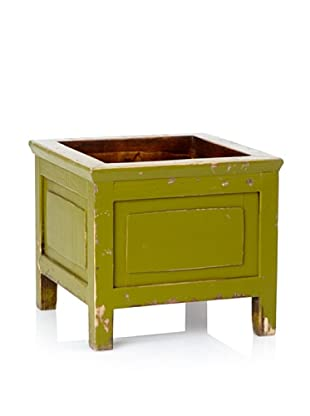Antique Revival Country Planter (Olive Green)