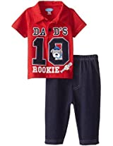 Bon Bebe Baby Boys Newborn Dads Rookie 2 Piece Pant Set By Bon Bebe