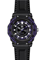 Q&Q Analog Black Dial Men's Watch - VR16J006Y