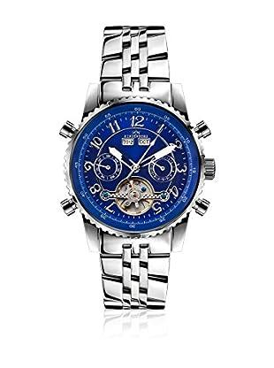 Hindenberg Reloj automático Man Hindenberg 230-H Air Stahl Blau Azul 42 mm