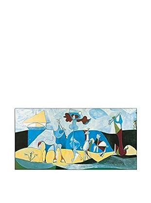 ArtopWeb Panel de Madera Picasso La Joie De Vivre Au Antopolis 50x100 cm