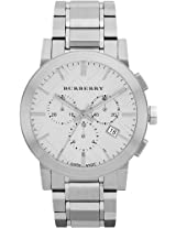 Burberry Large Check Chronograph Mens Watch Bu9350