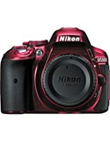 NikonD5300 DSLR Camera (Body Only, Red)