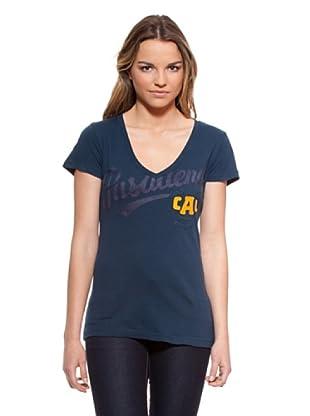 Timeout Camiseta Print (Azul)