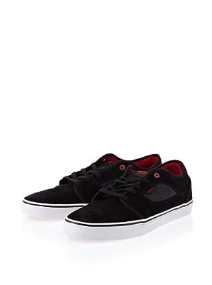 Vans Covert VOYW458 Herren Sneaker (Schwarz (Black/Red))