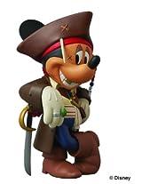 Medicom Disney Pirates of the Caribbean 4 Captain Jack Sparrow Mickey Vinyl Collector Doll