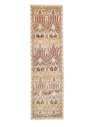 Darya Rugs Arts & Crafts Handmade Rug, Lavender, 2' 5