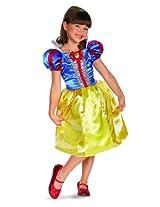 Disguise Disney Snow White Sparkle Classic Girls Costume, 7-8
