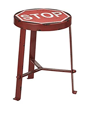 Premier Housewares  Hocker 2403809 rot