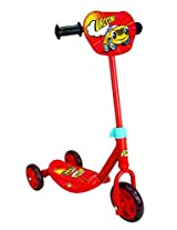 Smoby Vroom Scooter - 3 Wheels, Red