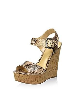 Bata 7618533 Sandali con cinturino alla caviglia, Donna, Beige, 36