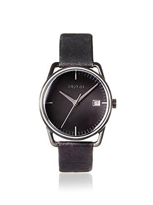 Nixon Men's A199-001 The Mellor Automatic Black Leather Watch