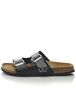 World Walker Licensed by Birkenstock Sandalo Bonny (Nero)