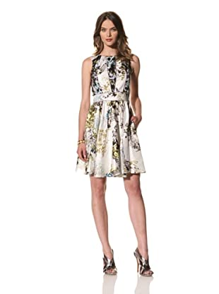 Cynthia Rowley Women's Sleeveless Mixed Floral Dress