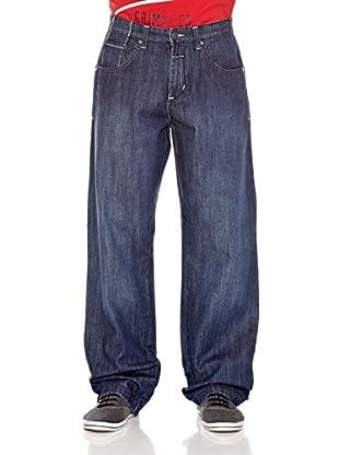 Grimey Wear Jeans Rudes (Azul)