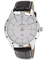 Maxima Attivo Analog Silver Dial Men's Watch - 24120LMGI